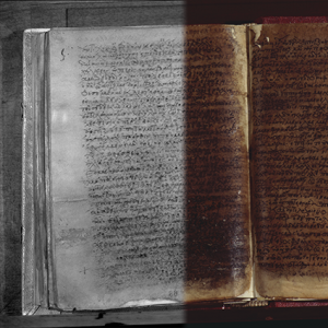 IR-Vis manoscritto Omero