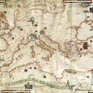 Carta Nautica Bartolomeo Pareto