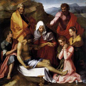 Pieta di Luco Andrea del Sarto