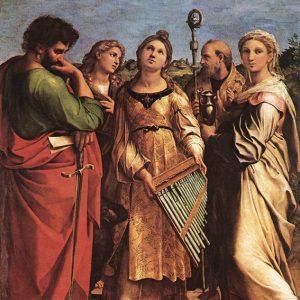 Santa Cecilia Raffaello