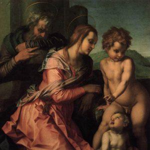 Sacra Famiglia Bracci Andrea del Sarto