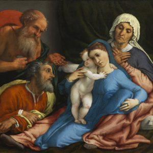 Sacra Famiglia - Lotto