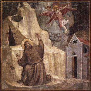 San Francesco riceve le stimmate - Giotto