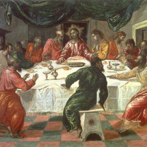 Ultima Cena El Greco