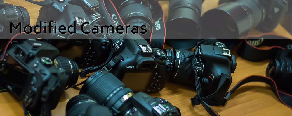 Modified cameras